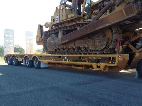 trt new trt 4x4 widening rear steer low loader for sale