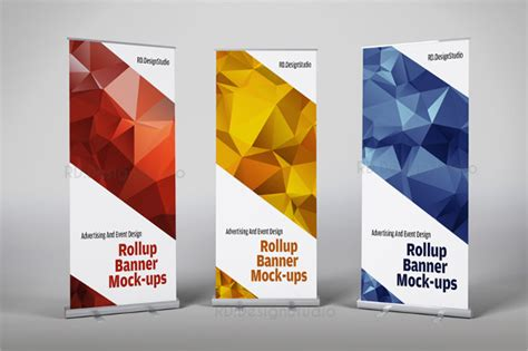 product banner template rollup banner 21 free psd ai vector eps illustrator