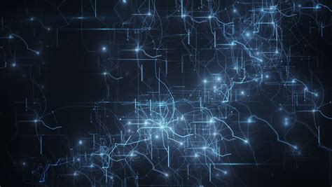 abstract background of technology network animation of