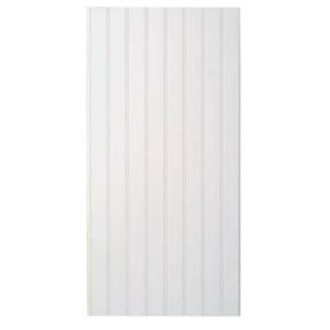 Marlite Wainscot marlite supreme wainscot 8 linear ft hdf tongue and groove paintable white beadboard panel 6