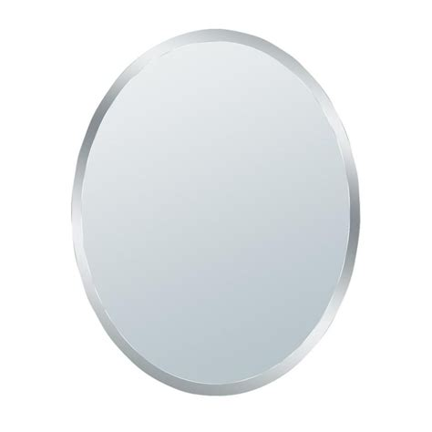 small oval bathroom mirrors glacier bay 31 in x 21 in small beveled oval mirror