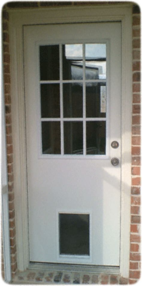 Exterior Doors With Doggie Doors Built In Exterior Door With Built In Pet Door Pet Ready Xpd50 Door Free Shipping