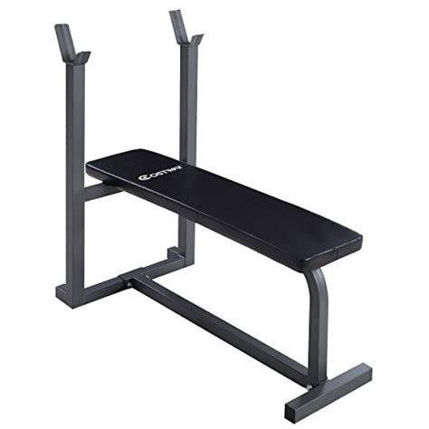 bench body weight goplus 174 weight lifting flat bench fitness body workout sit
