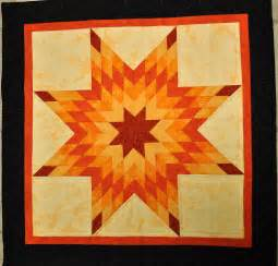 that forthright orange lone quilt