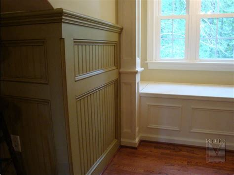 beadboard wainscot pictures for mitre contracting inc in bristow va 20136