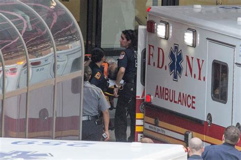 bellevue emergency room elevator repairman severs arm in financial district ny daily news