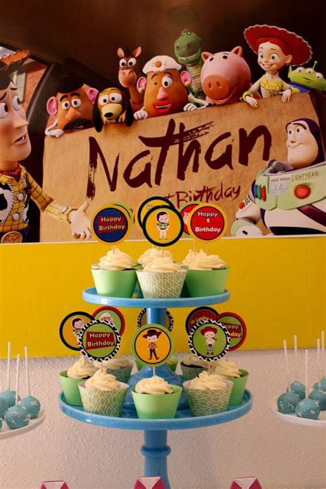 toy story themed birthday party kara s party ideas toy story themed party via kara s party