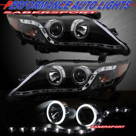 2011 Toyota Camry Headlights 2010 2011 Toyota Camry Ccfl Halo Projector Headlights W