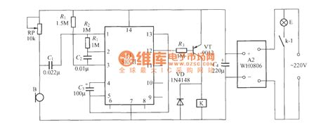 voice activated light switch voice activated delayed light switch circuit 2 basic