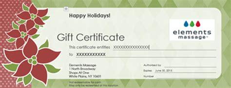 Massage Gift Cards - black friday specials