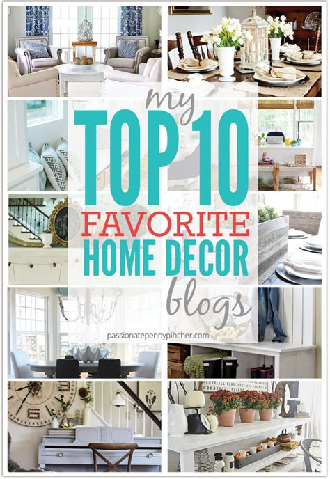 top home decor blogs my top 10 favorite home decor blogs pincher