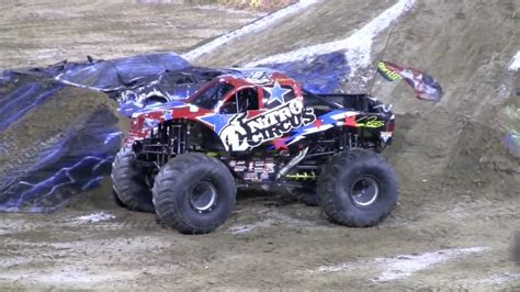 monster truck jam videos youtube nitro circus backflip at monster truck jam 2010