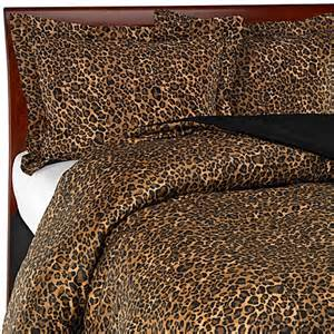leopard print comforter set bed bath beyond