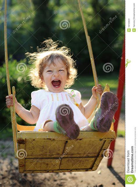 child on swing child on swing stock image image 19133631