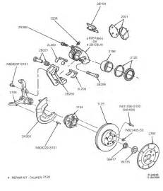 Brake System Parts Diagram Ford Crown Brake Service Notes