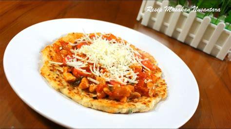 membuat pizza youtube resep cara membuat pizza tahu youtube