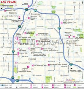 handy las vegas city map mapsofworld updates