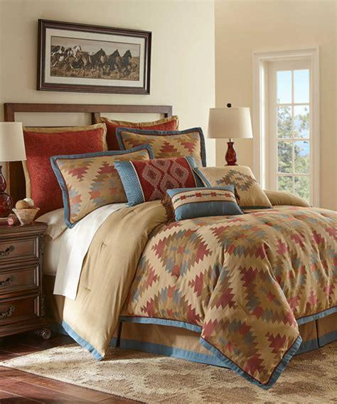 southwestern bedding rustic bedding sets lodge log cabin bedding