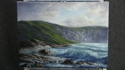 with paint paint with kevin hill the rugged coast
