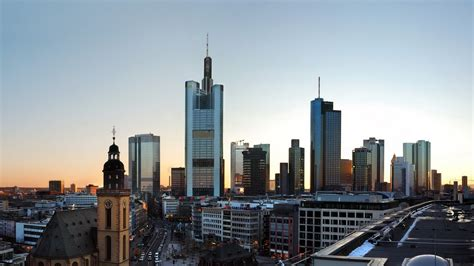 frankfurt skyscrapers mac wallpaper  allmacwallpaper