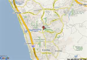 la costa california map map of la costa resort and spa carlsbad