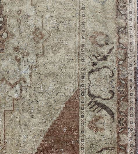 neutral color rugs vintage oushak rug with neutral colors for sale at 1stdibs
