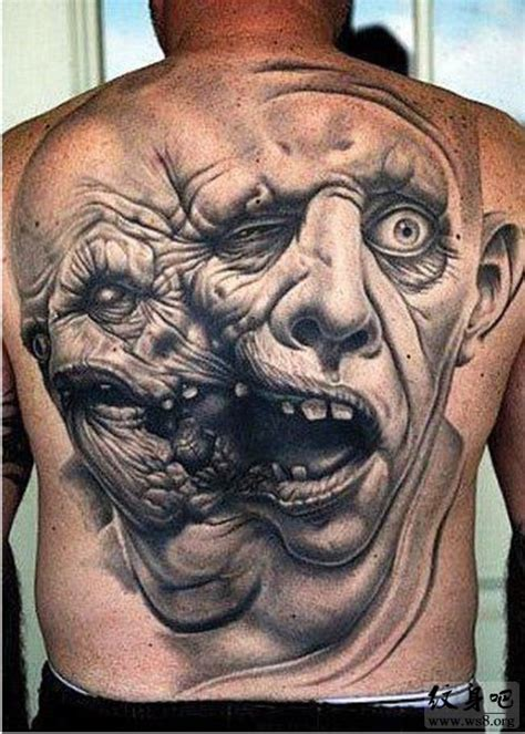 满背欧美纹身男内容图片分享