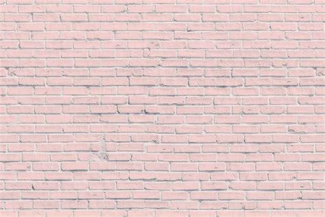 Pink brick wall mural murals wallpaper