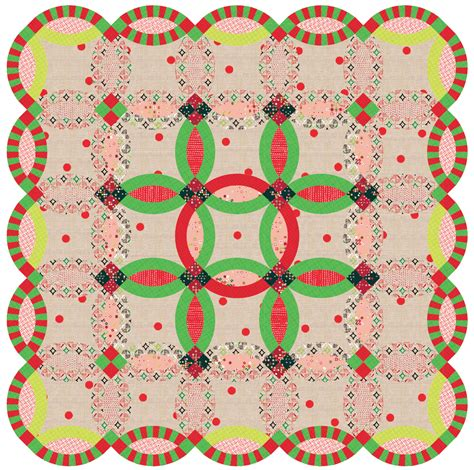 green red victoria findlay wolfe quilts