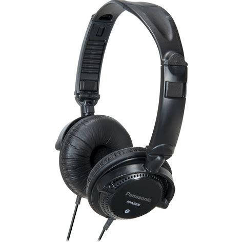 Headphone Panasonic panasonic rp djs200 dj style headphones black rp djs200 k b h