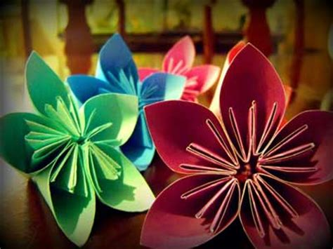 Post It Note Origami Flower - sticky note origami flower www pixshark images