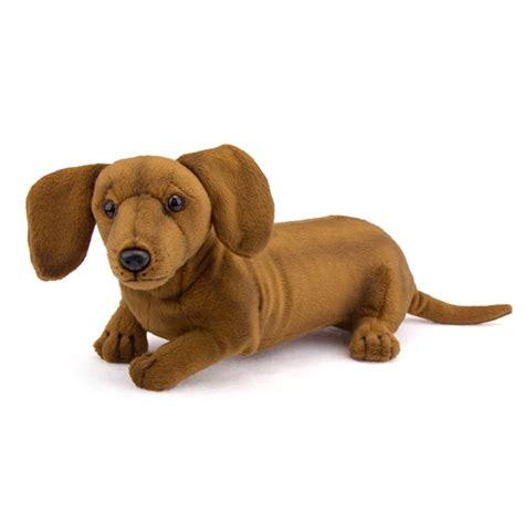 lifelike puppy handcrafted 16 inch lifelike stuffed dachshund puppy by hansa