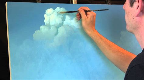 painting clouds  tim gagnon  time lapse speed
