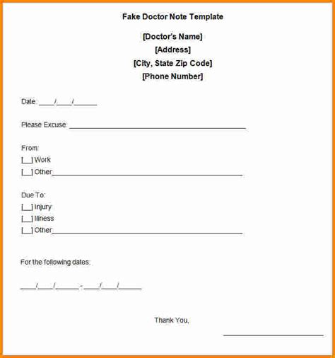 dr s note template 13 doctors note template cashier resume