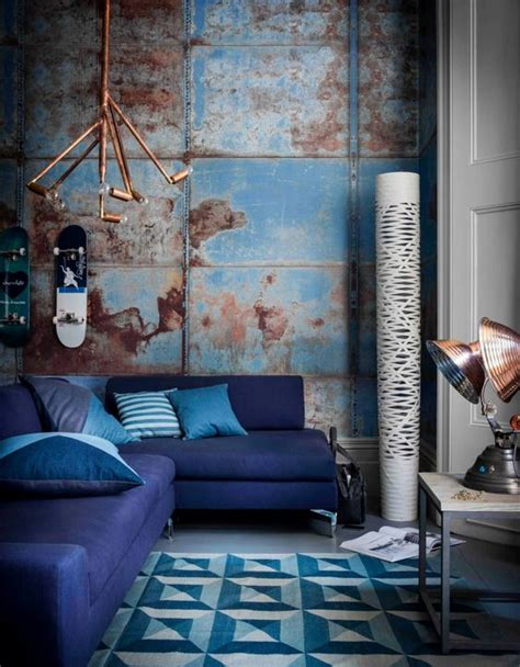 Industrial Wall L by 30 Jaw Dropping Wall Covering Ideas For Your Home Digsdigs
