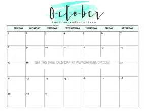 free october calendar template free printable october 2017 calendar 12 awesome designs