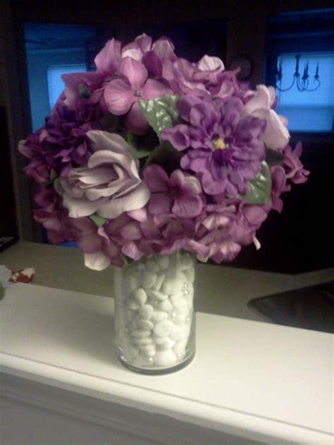 purple centerpieces weddingbee photo gallery