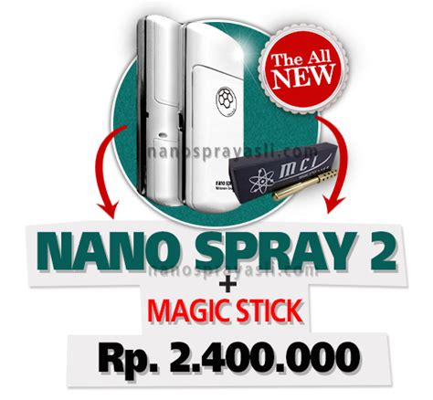 Baterai Nano Spray 3 nano spray original mci mgi nano spray mci