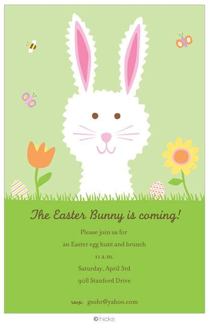 Come With Me Easter Invites by 172 Best Images About Invitation Wording On