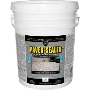 Sealer Paint For Plaster Ceiling by Dyco Paver Sealer Wb 5 Gal Clear Low Sheen Exterior