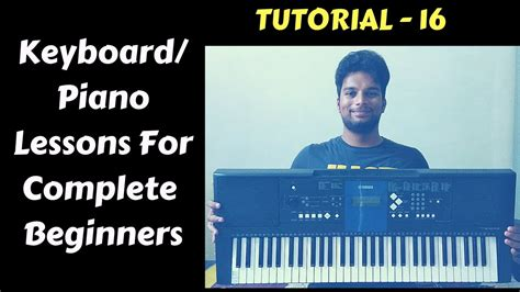 keyboard tutorial for beginners free keyboard tutorial for absolute beginners lesson 16