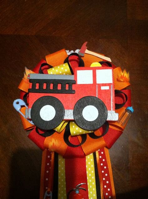 Firefighter Baby Shower by Firefighter Baby Shower Corsage On Etsy 20 00 Modern