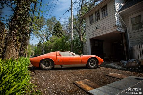 Barn Find by This Lamborghini Miura Is A Family Heirloom Barn Find