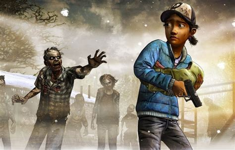 wallpaper  weapons zombies  situation telltale