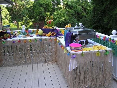 backyard luau party ideas 17 best images about retirementville party on pinterest