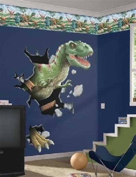 dinosaur themed bedroom dinosaurs wall themes for kids room interior design