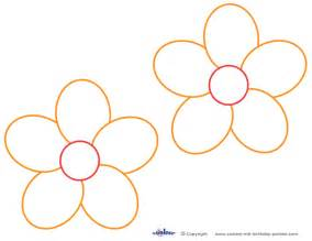 Free Flower Template Printable by Free Printable Flower Templates Cliparts Co