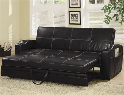 leather pull out sofa bed click clack sofa bed sofa chair bed modern leather