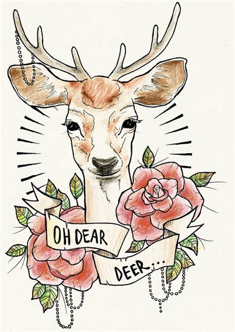 Skull Fabric Iphone Dan Semua Hp dear deer image 410374 on favim