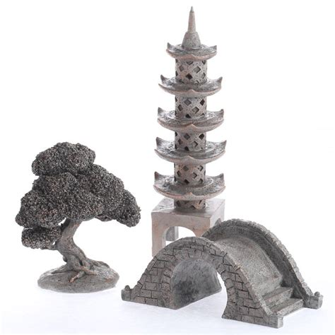 miniature resin japanese tower tour figurines fairy